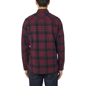 Fox Traildust 2.0 Top In Flanella A Maniche Lunghe Uomo, cranberry